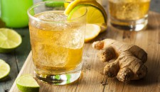 Make a delicious Ginger Mint Cooler