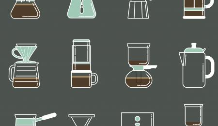 Coffee brewing methods video