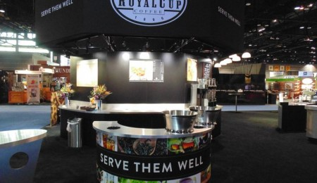 Royal Cup's NRA Booth Chicago Illinois