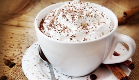 how to make a white chocolate latte