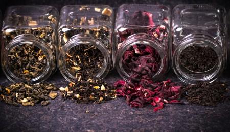 Caffeine content in tea by region