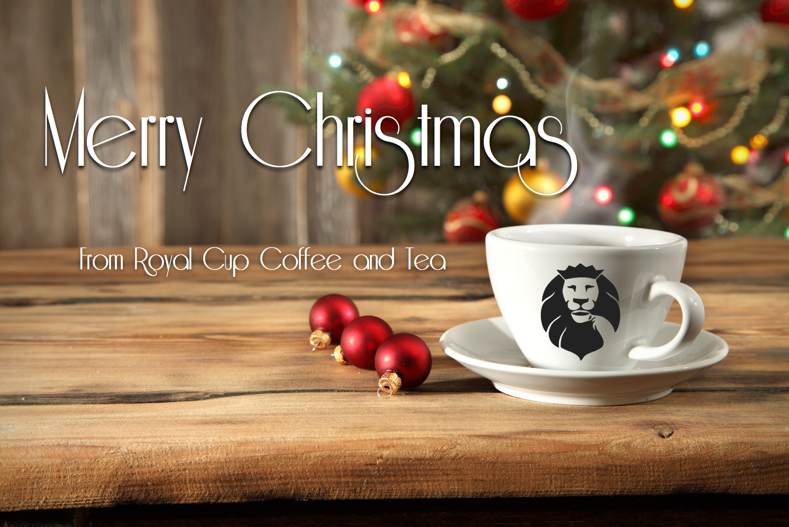 Happy Holidays from Royal Cup Coffee and Tea | Royal Cup Coffee