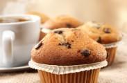 coffee and chocolate chunk muffins