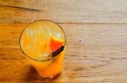How to Make a Yellow Peach Rooibos Caipirinha Cocktail