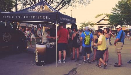 Royal Cup serves Food Bank at Sloss Fest