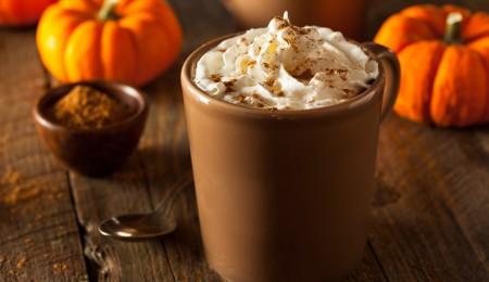 Make pumpkin spice latte in a crock-pot